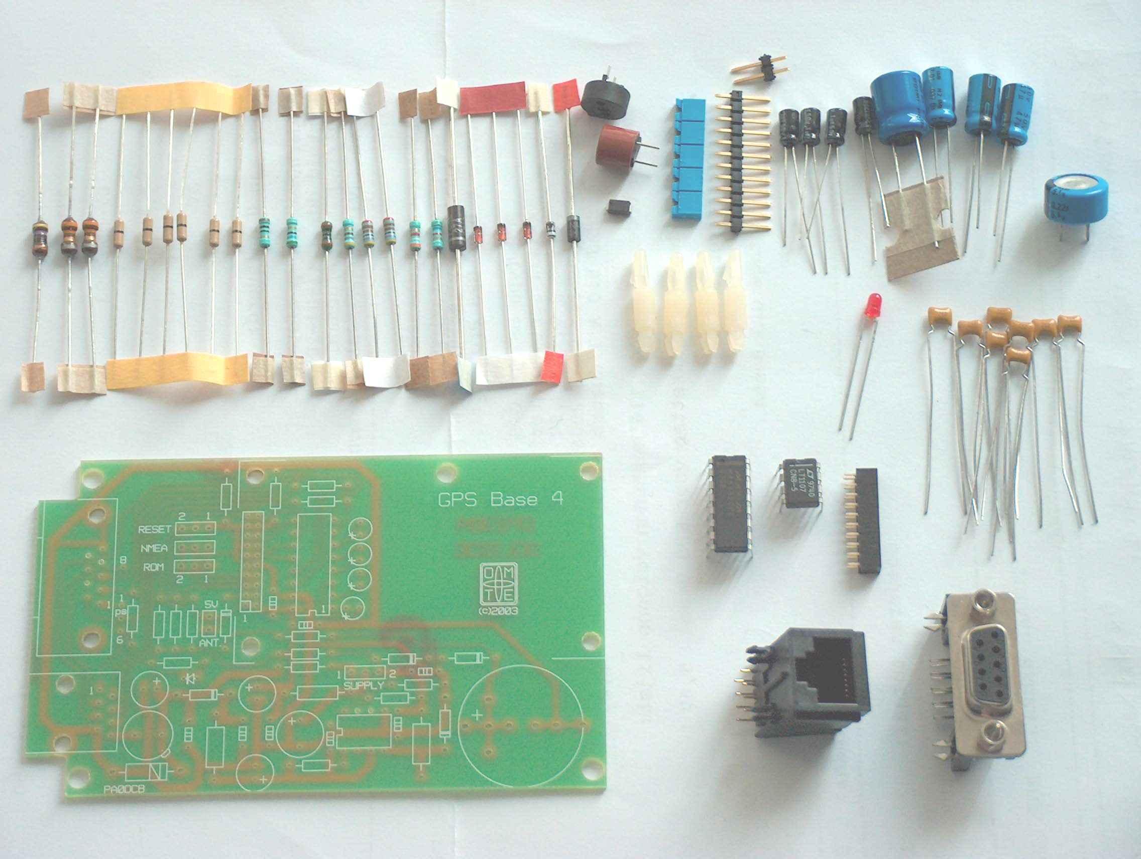 Building description GPS support kit